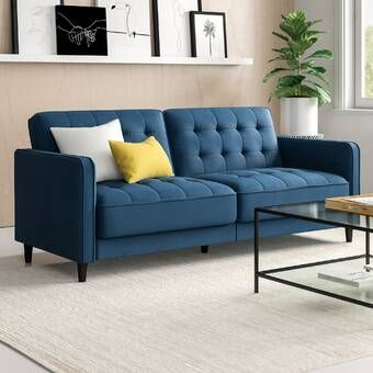 Minter 89 Pillow Top Arm Sofa Bed In 2020 Sofa Bed Upholstery Bed Sofa