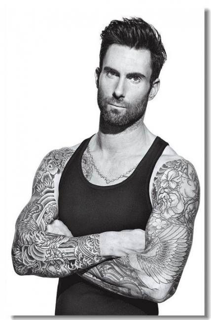 New Tattoo For Guys Music Adam Levine Ideas Tattoo Music Adam Levine Maroon 5 Tattoos For Guys