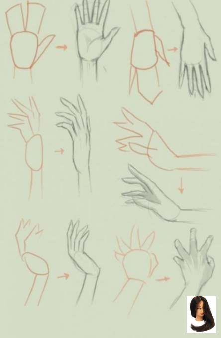 Anime Drawing Drawing Ideas Step By Step Hands Ideas Step Drawing Anime Hands Step By Step 29 I Drawing Anime Hands Anime Drawings Tutorials Hand Sketch