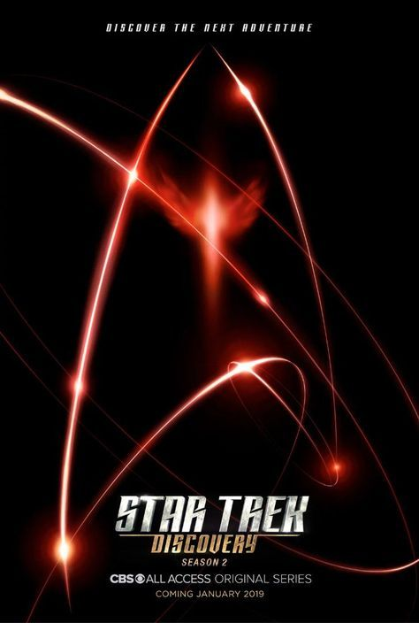 Star Trek Discovery Season 2 Poster Premiere Date Revealed Star Trek Posters Star Trek Tv Star Trek