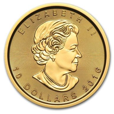 2016 Canada 1 4 Oz Gold Maple Leaf Bu Tr 15154 Buy Gold And Silver Gold Bullion Coins Canadian Gold Coins