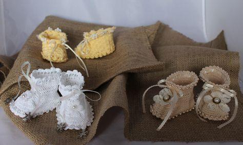 Drunken Crochet Heirloom Beaded Baby Boots Free Pattern Haken