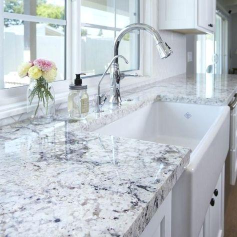 White Granite Kitchen Countertops Price
