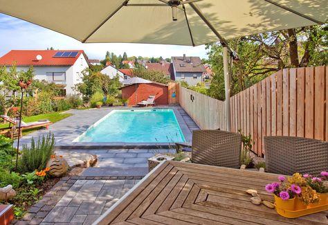 Pools Fur Kleine Garten Platzmangel Ist Kein Hindernis Pool Fur Kleinen Garten Schwimmbad Bauen Naturschwimmbader