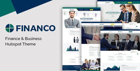 Financo — Investment HubSpot Theme   Stylelib