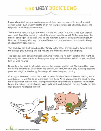 1st Grade Fairy Tale Reading Comprehension Worksheets Education
