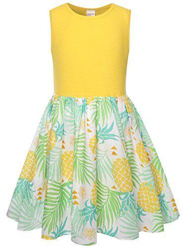 Bonny Billy Girls Cacual Summer Tank Dresses for Kids