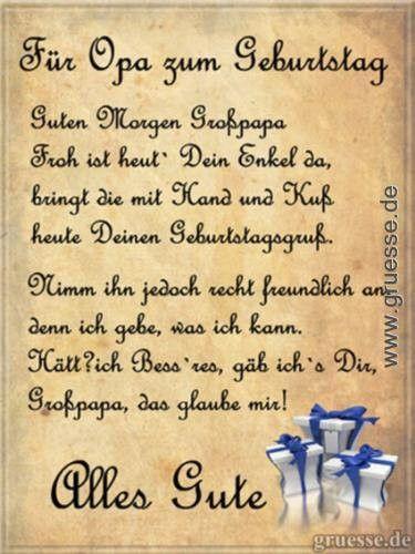 Lustige Geburtstagswunsche Fur Opa Fresh Fur Opa Zum Geburtstag