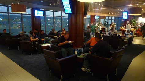 Favorite places spaces on pinterest restaurant bar for Mercedes benz lounge amway center