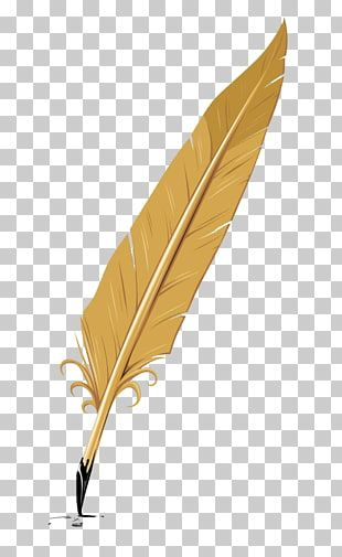 Writing Quill Feather Pen Feather Brown Feather Pen Illustration Png Clipart Pen Illustration Feather Pen Feather