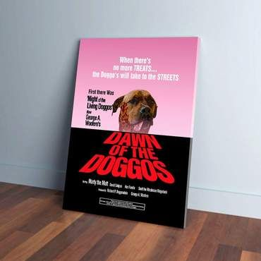 Custom Canvases Page 2 Doggovinci In 2020 Custom Canvas Dog