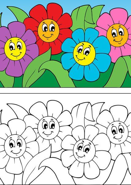 Desenhos De Flores Para Colorir Flores Para Colorir Desenhos De