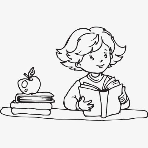 المواد التعليمية مكتب تعلم الكتاب المدرسي حقيبة مدرسية القلم خط الرسم تأثير Textbook Drawings Line Drawing
