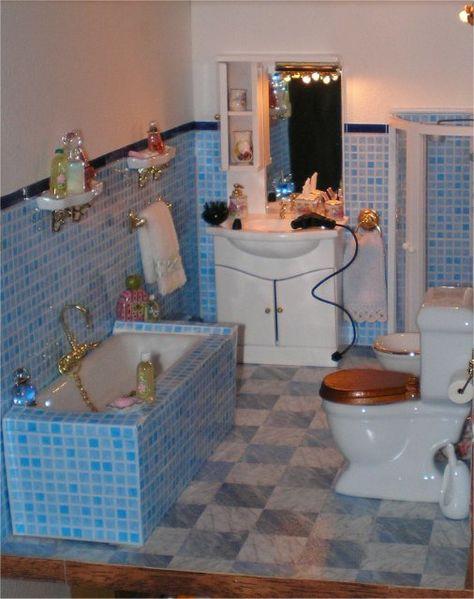 1:12 Dollhouse Miniature Mini Toilet Plungers Model Bathroom Decor Accessor Sqi4