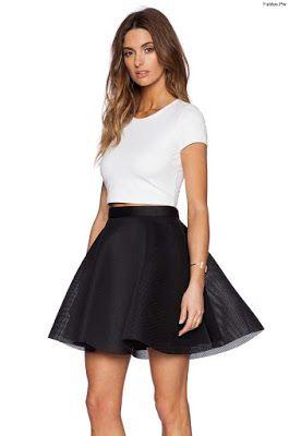 fe4ce1d19 Faldas Negras de Vestir | Faldas en 2019 | Faldas negras, Faldas y Moda