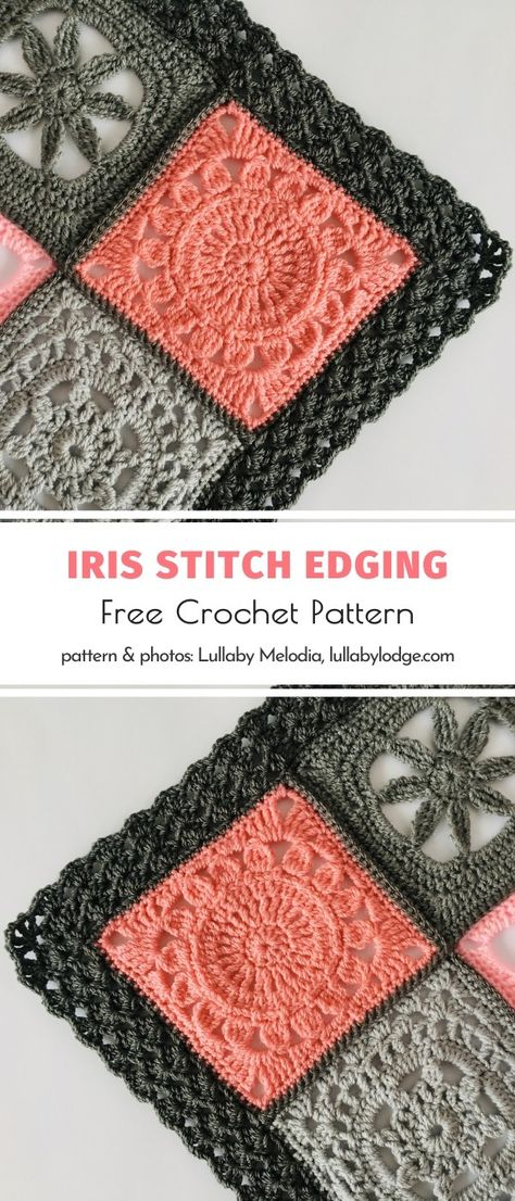 Manta Crochet, Knit Or Crochet, Crochet Crafts, Free Crochet, Crochet Stitches, Yarn Crafts, Crochet Projects, Crochet Edgings, Etsy Crafts