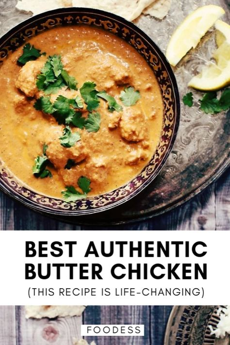 Simply my most requested recipe, this crazy-good butter chicken recipe may just change your life. The simple marinade creates the most juicy, tender chicken and the sauce, which simmers to develop deep flavours, is rich and heavenly. This is the best authentic Indian butter chicken recipe you'll try, friends!