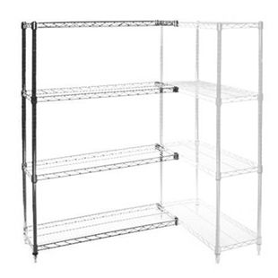 18 D X 24 W Wire Shelving Add Ons With 4 Shelves The Shelving Store Wire Shelving Units Wire Shelving Shelves