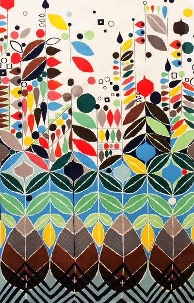 Stockholm by Alexander Henry's Mecca for Moderns collection via print & pattern