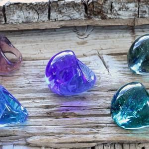 Lampwork ring-Venetian glass ring-glass ring-Statement ring-Anello in vetro-Bague en verre Murano glass ring-Big glass rings