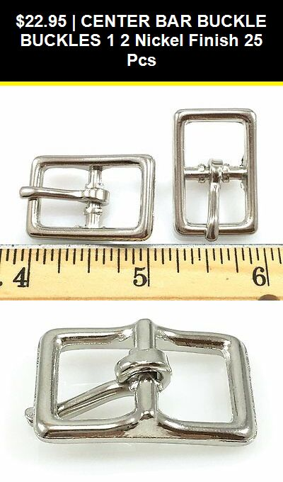 """LOT Of 8 Floral Silver Plated Heel Bar Buckles Leather Hardware 1/"""""""