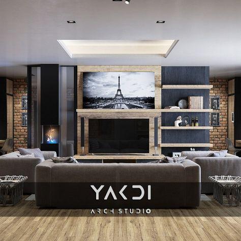Living Room صالة معيشة مفتوحة 2017 Interiors Interior Design Design