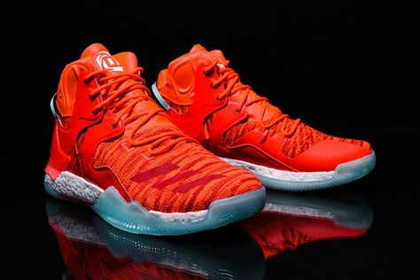 new arrive 7e7a0 71666 Free Shipping Only 69  D Rose 8 VIII Rocking Knicks Vibrant Orange Hot Lava    Popular Shoes New in 2018   Pinterest   Adidas, Sneakers and Popular  sneakers