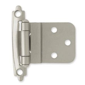 H0104al Sn 3 8 Self Closing Inset Hinge Satin Nickel Pack Of 2 Inset Hinges Overlay Cabinet Hinges Traditional Cabinets