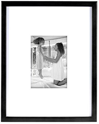Amazon Com Mcs 11x14 Inch East Village Collage Frame With 5x7 Inch Mat Opening Black 29021 Ho Collage Frames Best Digital Photo Frame Framed Photo Collage