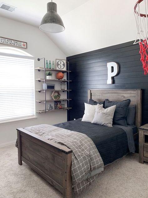 Big Boy Bedrooms, Kids Bedroom, Bedroom Decor, Bedroom Ideas, Bedroom Boys, Bedroom Black, Girl Rooms, Bedroom Inspiration, Master Bedroom