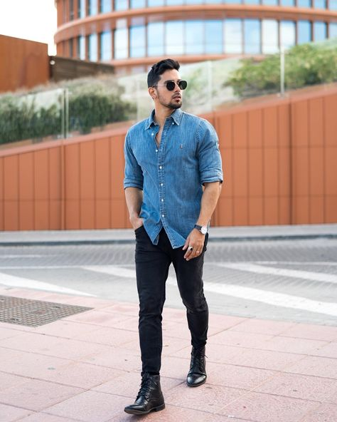 Since sooner or later you will have to think, think big🧠 Good afternoon lovers of good dress, I bring you this comfortable and somewhat… Stylish Mens Outfits, Casual Summer Outfits, Simple Outfits, Blazer Fashion, Mens Fashion, Men Summer Fashion, Men Fashion Casual, Guy Fashion, Fashion Shirts