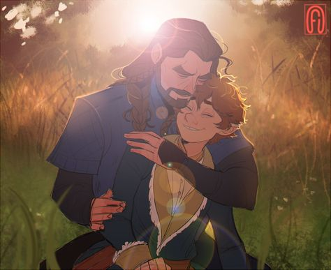 Thilbo Heaven The Hobbit Slash Le Hobbit Thorin, Baggins Bilbo, Hobbit Art, Thorin Oakenshield, Gandalf, Legolas, Lotr, Johnlock, Bagginshield