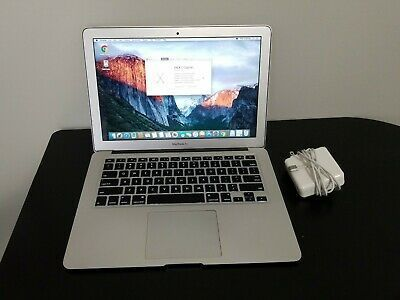 Apple Macbook Air 13inch Early 2015 Core I5 1 6ghz 8gb In 2020 Apple Macbook Air Apple Macbook Macbook Air