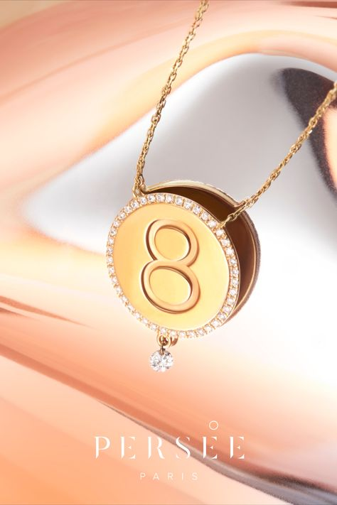 Discover our new collection « One » & the meaning of numerology. From number 1 to 9, explore the single digit numbers in Numerology. This number is determined by your birth date and represents who you are. Enter your birth information on our website to calculate your Life Path Number. #lifepathnumber #diamondnecklace #goldnecklace