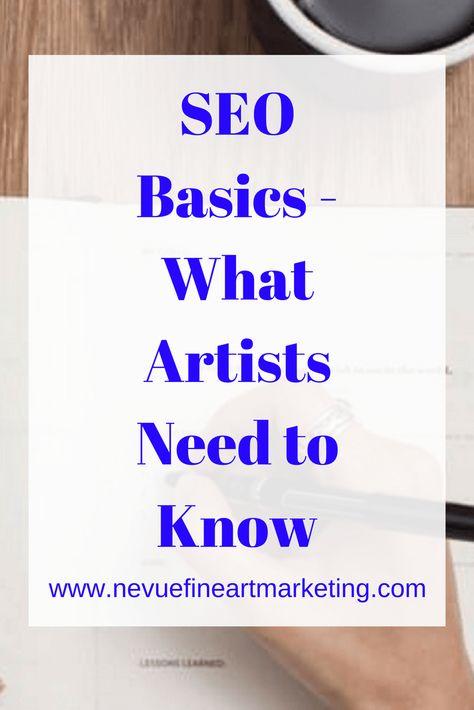 SEO Basics For Art Websites