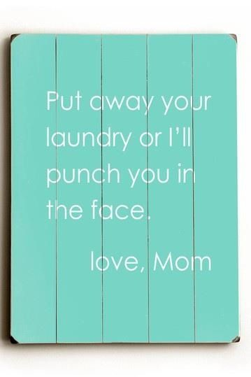funny for the laundry room
