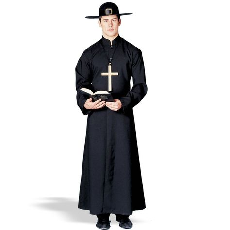 ength Sash Religious Embroidered Men Robe Costume Halloween Full Priest Adult