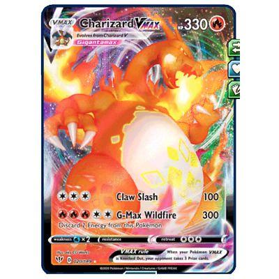 Charizard Vmax 20 189 Darkness Ablaze Pokemon Tcg Online Digital Card Pokemon Tcg Online Pokemon Tcg Charizard