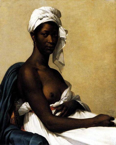 Marie-Guillemine Benoist - Portrait of Madeleine (1800)