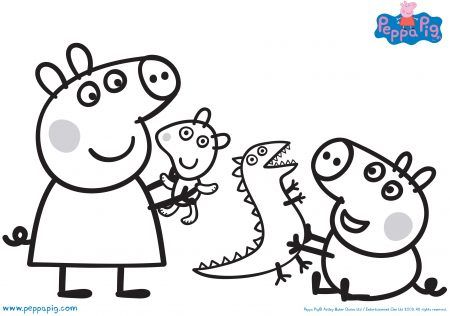 Coloring Rocks In 2020 Peppa Pig Coloring Pages Peppa Pig Colouring Peppa Pig Pictures