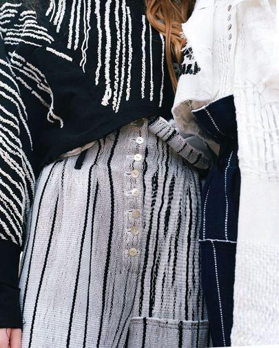 Luna Del Pinal Handwoven Jackets Brand Launch Interview | British Vogue
