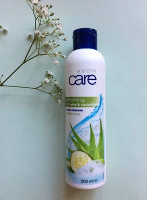 Avon Care Facial Cleanser With Aloe And Cucumber Review Avon Care Facial Cleanser Cleanser