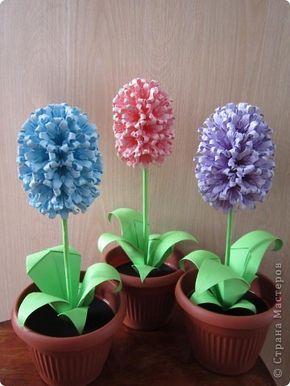 Pin By Fiolek On Wielkanoc Paper Flowers Craft Origami Flowers Origami Paper Art