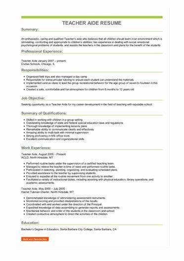 Teacher Assistant Job Description Resume Luxury Sample Teacher Aide Resume Teacher Assistant Jobs Teacher Resume Template Job Resume Examples