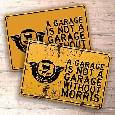 home Morris parking sign for garage man cave