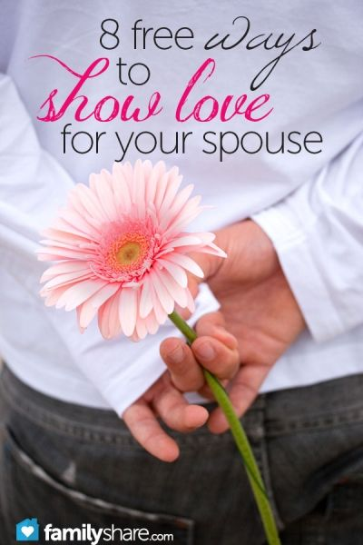 Little things you can do for your spouse on a budget
