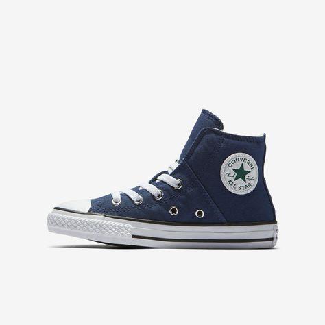 Nike Converse Chuck Taylor All Star Pull Zip Fall Uniform High Top Boys Shoe 764f84451