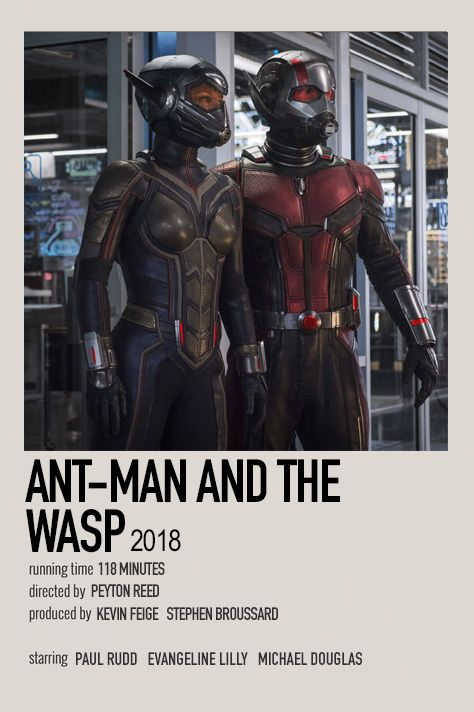 Ant-Man and the Wasp by Jessi