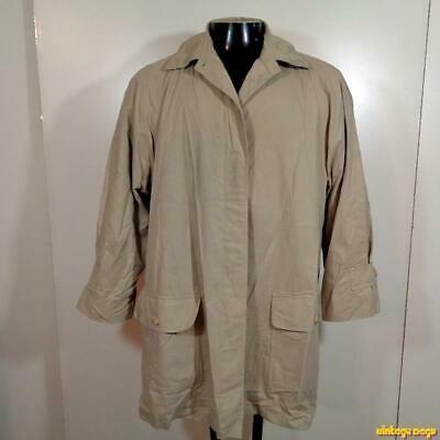 Ad Ebay London Fog Limited Edition Raincoat Trench Rain Coat Womens 14 Petite 14p Beige Trench Coats Women Coats For Women Black Raincoat