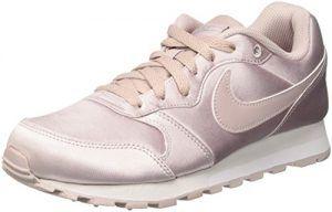 Nike Damen Md Runner 2 Sneaker Pink Particle Rose Particle Rose Metallic Silver 602 40 Eu Nike Damen Sneaker Damenschuhe
